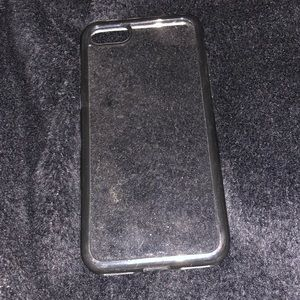 IPhone 8 case. Clear acrylic. Used.